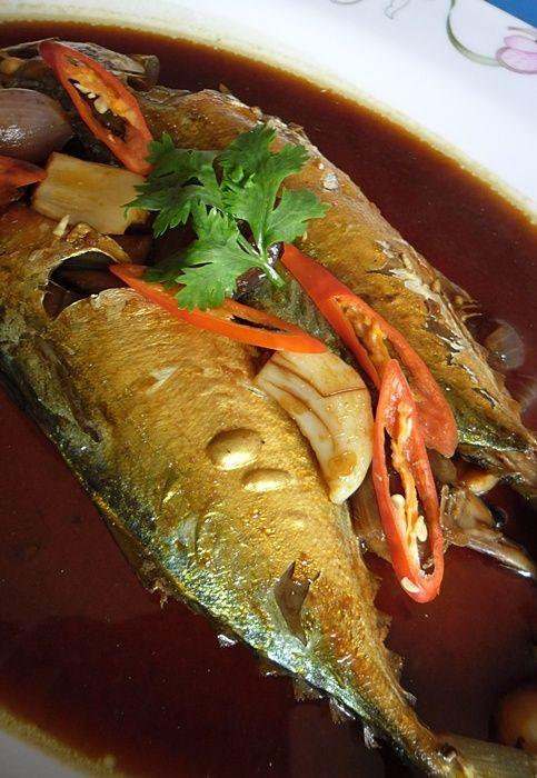 ปลาทูต้มเค็ม
