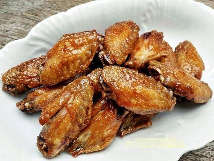 ปีกไก่ทอดซีอิ๊ว